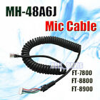 Mic Cable For Yaesu Microphone MH-48A6J MH-42B6J C02