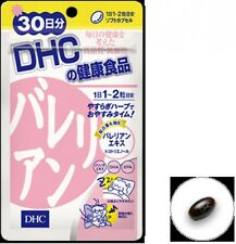 DHC Japan valerian 30 days 60 caplets supplement relaxation sleep support F/S
