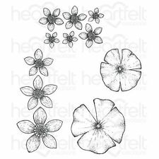 Heartfelt Creations: Water Lily Cling Stamp Set (HCPC-3725)