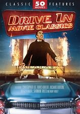 DRIVE IN MOVIE CLASSICS 50 MOVIE PACK New Sealed 12 DVD Set