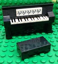 New Custom Piano Upright Mini figure Size With Bench City Friends Music Teacher