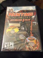 Hunting Unlimited Excursion 3 Pack (PC, 2011) New!!!
