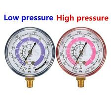 Pair PSI/KPA R410A R134A R22 Refrigeration Pressure Gauge Car Air Conditioning