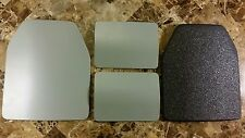 Body Armor Curved 10x12 & 6x8 Level 3 LINE-X Mil-Spec Certified Plate Spall Frag