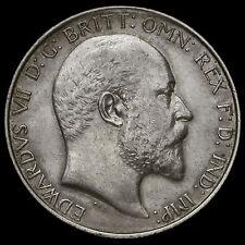 1904 Edward VII Silver Florin, Rare, A/EF