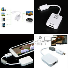 Micro USB to HDMI HDTV Smart MHL Adapter for Samsung Galaxy S3 S4 S5 Note 2/3/4