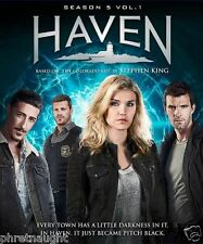 HAVEN SEASON 5 VOL. 1 DVD - EMILY ROSE - STEPHEN KING - AUTHENTIC US RELEASE