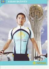 CYCLISME carte  cycliste ASSAN BAZAYEV  équipe ASTANA 2008