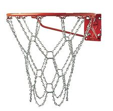 Champion Sports Heavy Duty Galvanized Steel Chain Basketball Goal Net