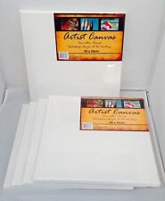 5x Artist Canvas 30x30cm Blank White For oil & acrylic painting/Paint Wholesale