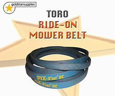 """TORO RIDE ON MOWER CUTTER BELT To suit early 42"""" cut rear discharge models 312-8"""