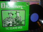 RARE-DELMORE BROTHERS-In Memory VOL.1-1974 blue stereo label-VG++/ by M-