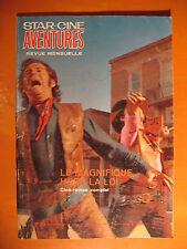 Star-Ciné Aventures 241-Le magnifique hors-la loi-Romans-Film Roman Western 1972