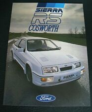 1986 Ford Sierra Rs Cosworth 3dr FOLLETO 500