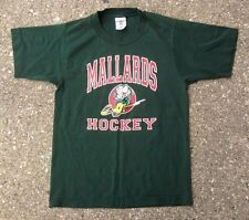 Quad City Mallards Vintage Hockey Shirt ~ Youth Boys Small ~ ECHL Iowa Wild