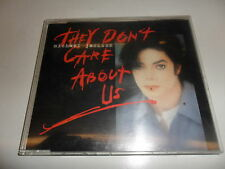 CD  Michael Jackson - They Don'T Care About Us