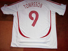 2006 2008 Denmark BNWT New Tomasson Adults XL Football Shirt Top