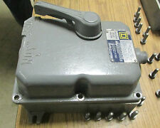Square D Enclosure For Hazardous Locations Cat# FA-050-X w/FAL Breaker .. VX-501