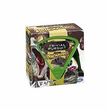 BRAND NEW - THE WORLD OF DINOSAURS TRIVIAL PURSUIT - 600 QUESTIONS IN WEDGE CASE
