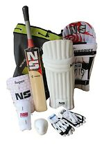 NS (Nelco) Cricket Kit Premium With Kashmir Willow Bat No. 4 Size