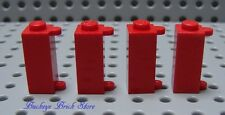 LEGO Red Brick SHUTTER HOLDER,1x1x2  Door Hinge