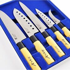 (GOLDSUN) Sashimi Kitchen Knife Set Stainless steel Cutlery Japanese Chef Knives