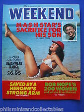 Weekend Magazine - Bill Christopher, Bob Hope, Howard Hughes   5th May 1982