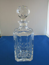 ATLANTIS Crystal Jose Whiskey Decanter with Stopper