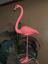 """* Pink Flamingo Table Lamp with """"realistic"""" foot/base * 28"""" high * Rare item! *"""