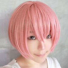 1pc Multi Color Men Boy Short Straight Hair Wig Anime Party Cosplay Full Wigs