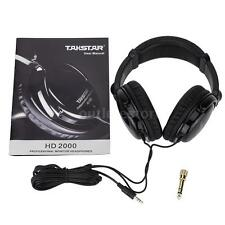 Takstar HD2000 Headphones Audio Mixing Studio Recording & DJ For Guitar F0G8