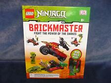 LEGO NINJAGO Fight the Power of the Snakes Brickmaster Lasha/Cole ZX Minifigure