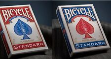 2 mazzi Carte Bicycle Standard Index dorso rosso e blu cards SPEDIZ. GRATUITA