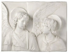 "Tobias and the Angel plaque Sculpture Christian Religious 25"" x 19"""
