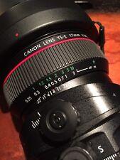 Canon TS-E 17mm f/4 L TS(Tilt Shift) Lens