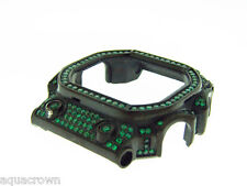 Full case green cz bazel fit for Casio G shock GX-58KG Black case