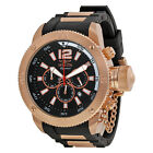 Invicta Signature II Russian Diver Chronograph Black Dial Mens Watch 7428