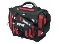 Rapala Extra Large Fishing Tackle Bag / Box - Includes 7 - 3700 Size Boxes - NEW