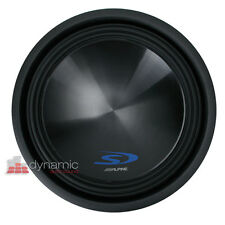 "Alpine SWS-15D2 Car Stereo 15"" Type-S Series Dual 2-Ohm Subwoofer 1,500W Max"