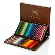Caran D'ache Supracolor Watercolour Pencil 80 Colour Wooden Box Set