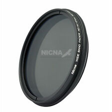 Nicna 67mm Fader ND Neutrial Density Filter Variable ND2 to ND400 Adjustable 67