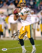 AARON RODGERS AUTO AUTOGRAPHED 8x10 RP PHOTO GREEN BAY PACKERS
