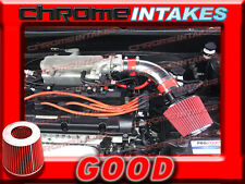 RED FULL AIR INTAKE KIT FOR 04 05 06-08 HYUNDAI TIBURON/04-06 ELANTRA 2.0L I4