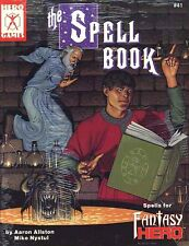 THE SPELL BOOK SEALED Fantasy Hero Games #41 Roleplaying Shrink-Wrap Compendium