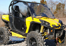 """Canam Commander 800/1000 Scratch Resistant Full Front 1/4"""" thick UTV Windshield"""