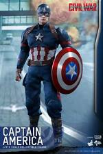Hot Toys MMS350 Captain America: Civil 1/6th Captain America Collectible Figure