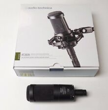 Audio-Technica AT2035 Condenser with AT Shock Mount and All-Black XLR