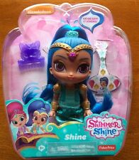 Nickelodeon Shimmer and Shine Genie Doll 6 Inch Blue Hair Shine New