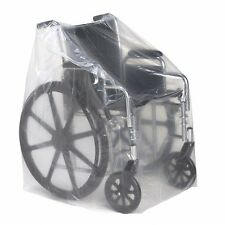 Roscoe Medical Wheelchair & Transport Chair Clear Covers 50x45 5pk (Ships Free)