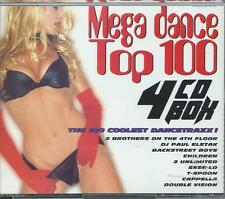 4 CD BOX - MEGA DANCE TOP 100 1996 2 BROTHERS ON THE 4 th FLOOR SKEE-LO ELSTAK